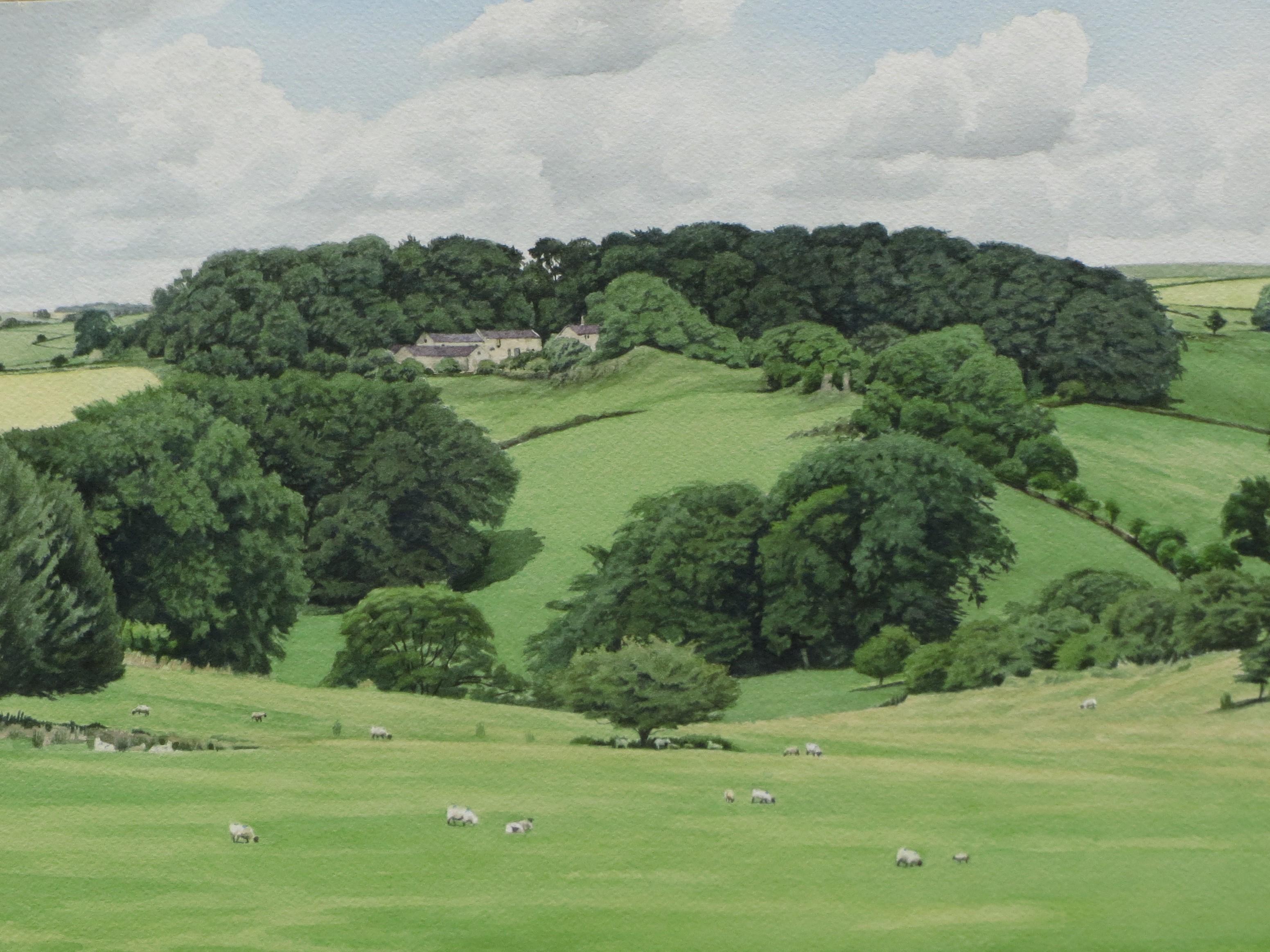 Ballidonmoor Farm 35.5 x 26 £600