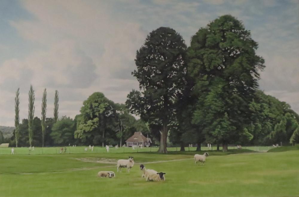 Cricket at Chatsworth