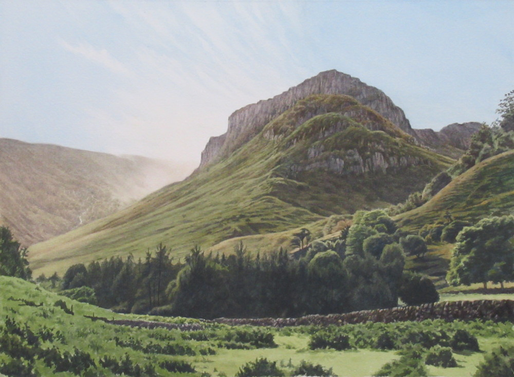 Eagle Crag, Stonethwaite 35.5 x 26 £600