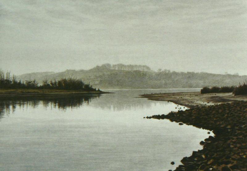 Morning mist, Carsington Water